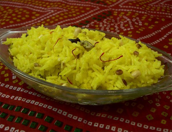 Kesari Bhaat Recipe