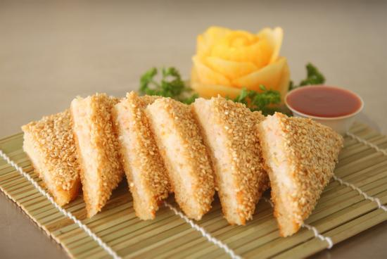 Prawn Sesame Toast