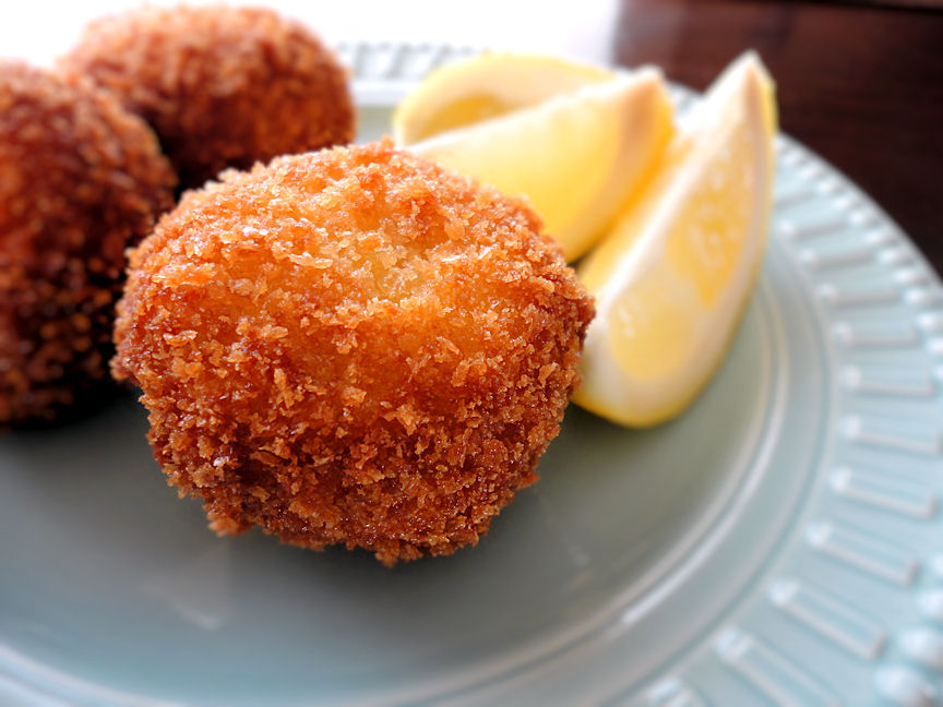 Stuffed Fried Mushrooms