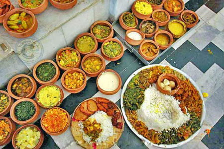 Delicious dishes from Orissa