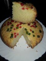 Fruity Rava Cake