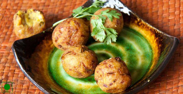 Raw banana koftas Recipe By Rasoi Menu