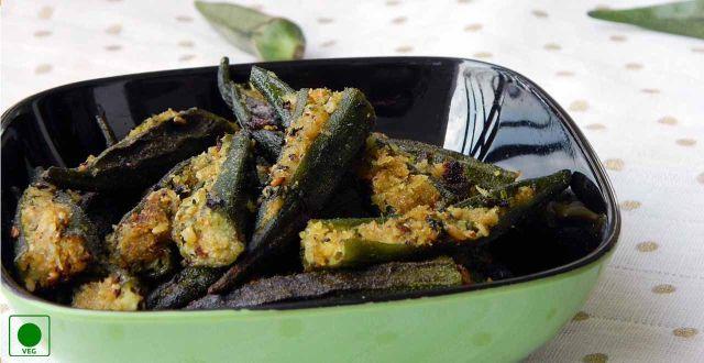 sambhariya bhindi recipe by rasoi menu