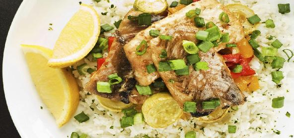 Baked Nile Perch
