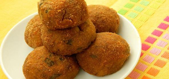 Baked Potato Cheese Balls