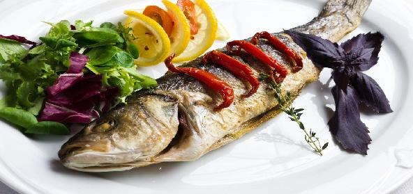 Baked Whole Fish In Rock Salt
