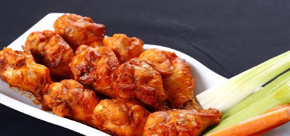 Batter Fried Chicken Wings