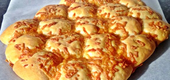 British Cheese And Onion Bread