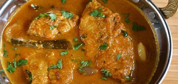 Chettinad Fish Kuzhambu