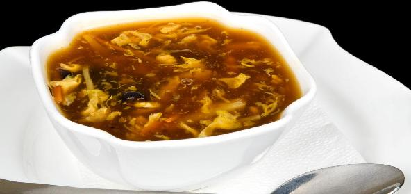 Chicken Corn Soup With Brandy