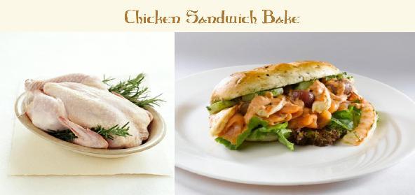 Chicken Sandwich Bake