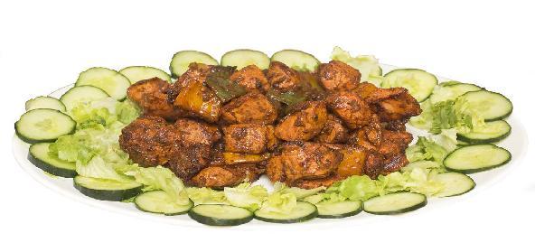 Chicken Tikka With Kasuri