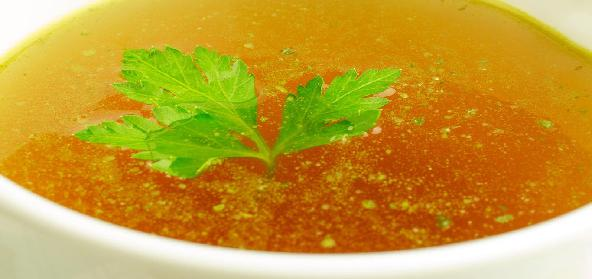 Clear Soup For Kids