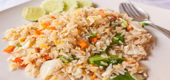 Delicious Vegetable Fried Rice