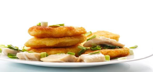 Fish And Potato Cutlets