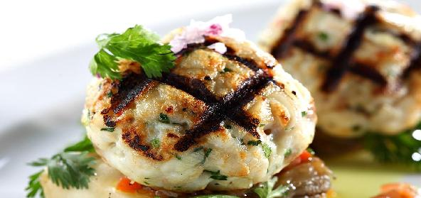 Fish Balls With Sweet And Sour Sauce