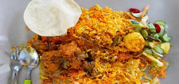 Flavoursome Mutton Biryani