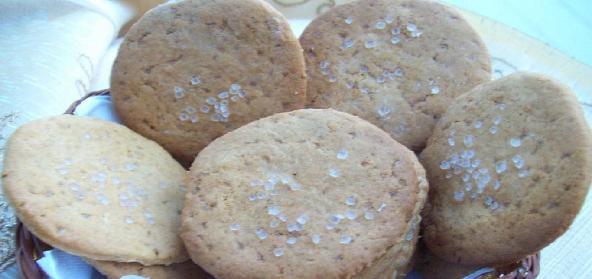 Fresh Ginger Lemon Honey Cookies