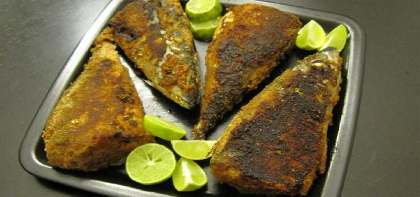 Goan Reached Masala Stuffed Mackerels