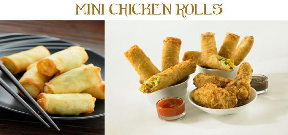Grilled Chicken Rolls