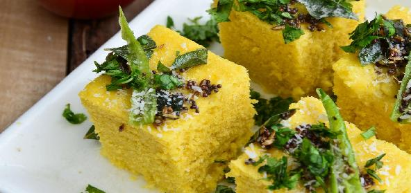 Instant Microwave Rawa Dhokla
