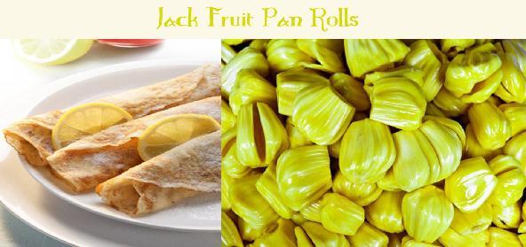 Jack Fruit Pan Rolls