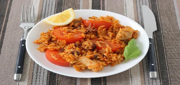Masala Tomato Rice