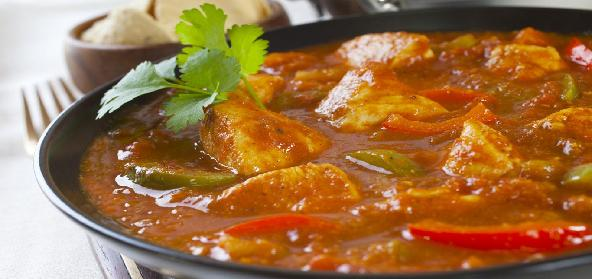 Microwave Chicken Curry