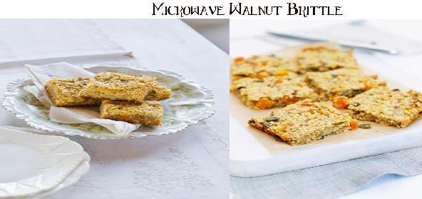 Microwave Walnut Brittle