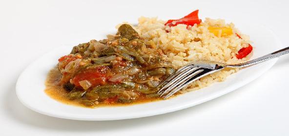Okra Fried Rice