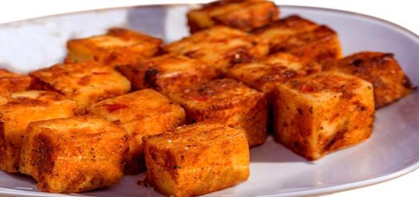Paneer Amritsari Cubes