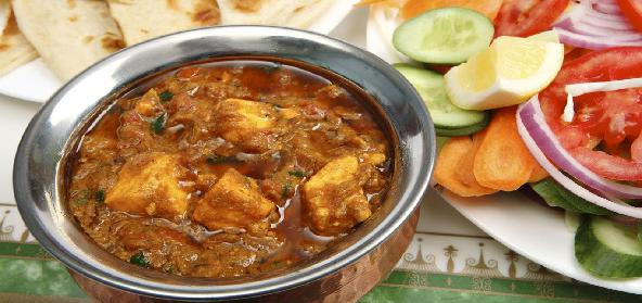 Paneer And Cashew Nut Curry