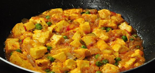Quick Paneer Curry