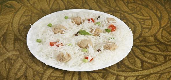 Soya Vegetable Pulao