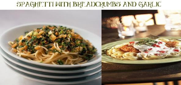 Spaghetti With Breadcrumbs And Garlic