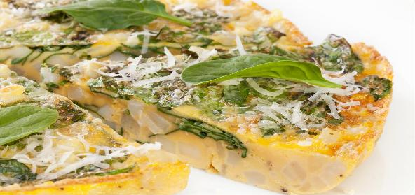 Spanish Spinach Cheese Omelette