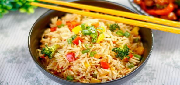 Spiced Vegetable Fried Rice