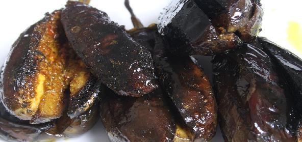 Spicy Bagare Baingan