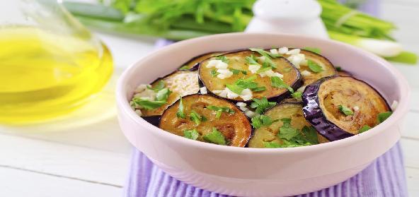 Spicy Indian Eggplant In Cilantro