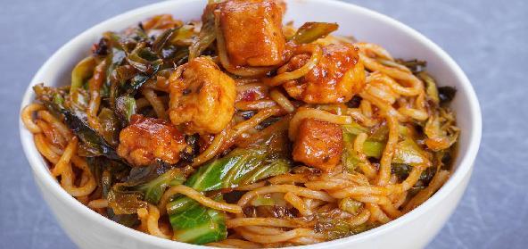 Spicy Szechuan Tomato Chicken