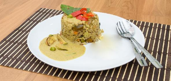 Spinach And Peas Pulao