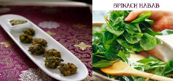 Spinach Kabab