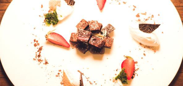 Strawberry Chocolate Brownies