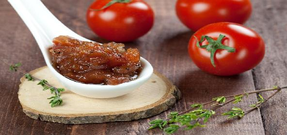 Tomato Chutney With Sugar
