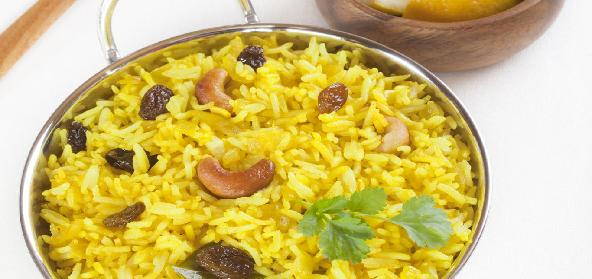 Traditional Lemon Rice